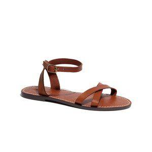 Madewell Boardwalk Crisscross Ankle Strap Sandal